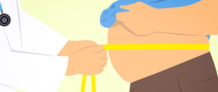 腹囲の計測