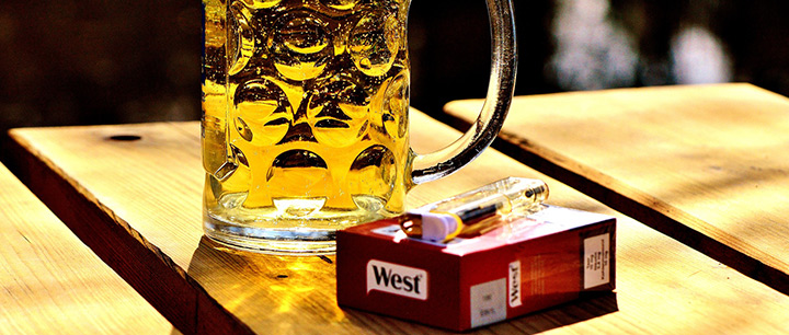 飲酒、喫煙はいびきの原因